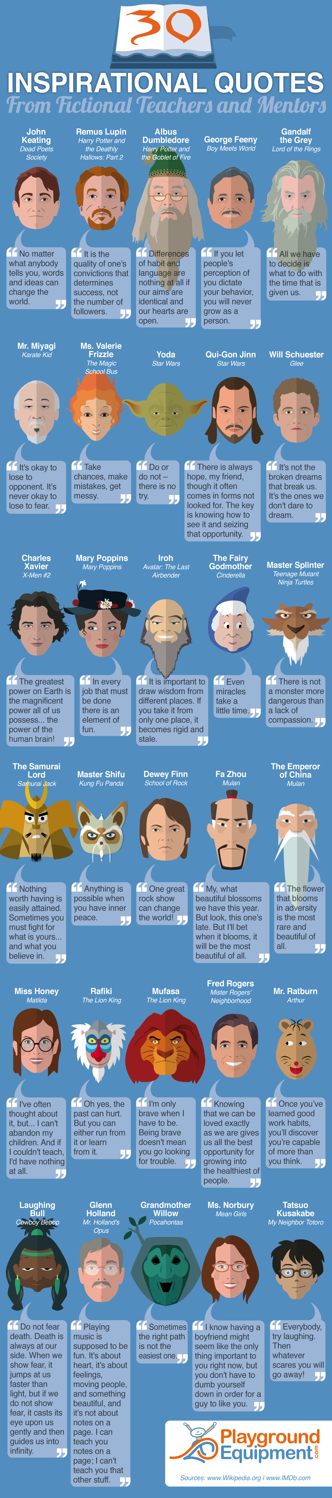 30-Inspirational-Quotes-from-Fictional-Teachers-and-Mentors-Infographic